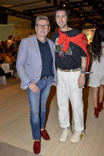 Jorge Bischoff e Arlindo Grund