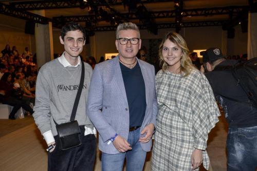 Equipe da Revista Vogue com Jorge Bischoff