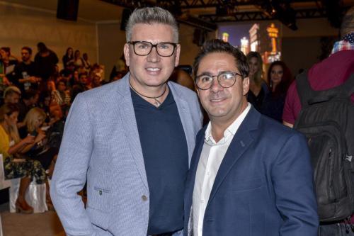 Jorge Bischoff e franqueado Edclair Miranda