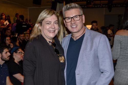 Heloisa Tolipan e Jorge Bischoff